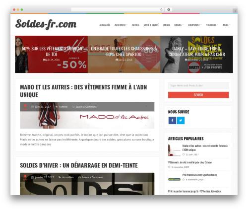 LiveBlog WordPress theme free download - soldes-fr.com