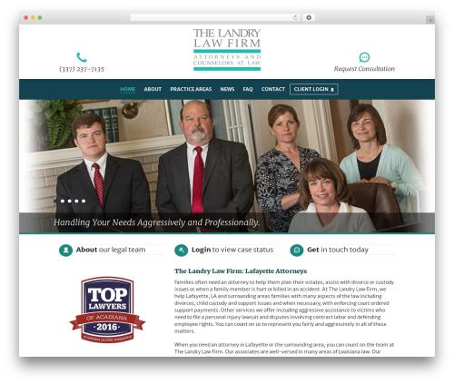 My Case Modern WordPress template for business - lafayettelaw.com