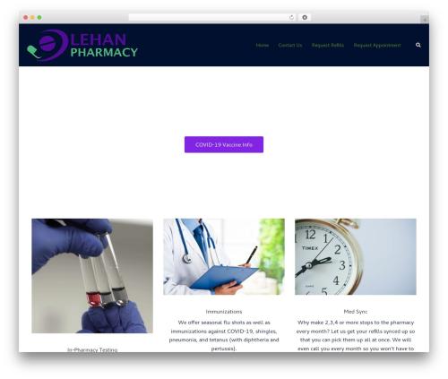 Sydney WordPress template free - lehanpharmacy.com