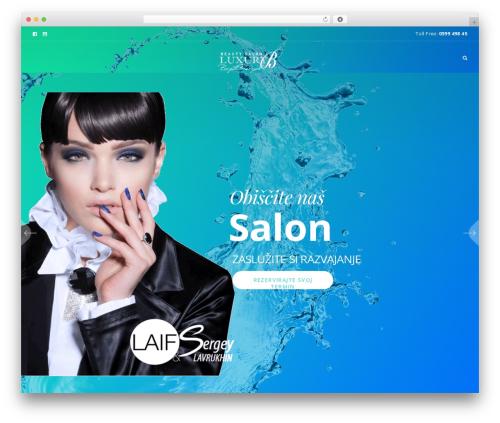 WordPress template Beyoutiful - luxuryb.si