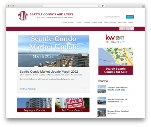 WP-Brilliance template WordPress - seattlecondosandlofts.com