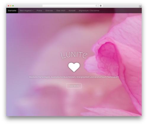 Arcade Basic theme WordPress - lunite.ch