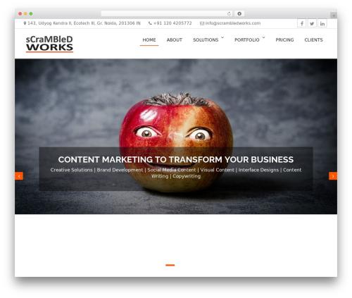 Business Era theme WordPress free - scrambledworks.com