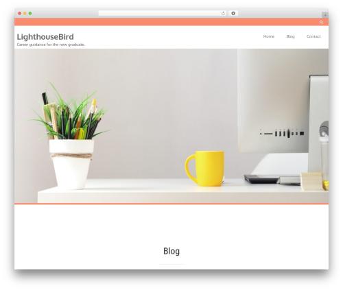 Foxeed Lite free WordPress theme - lighthousebird.com