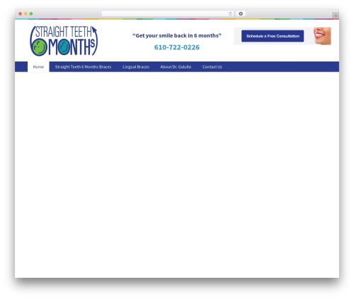 Medicom Theme WordPress theme design - straightteeth6.com