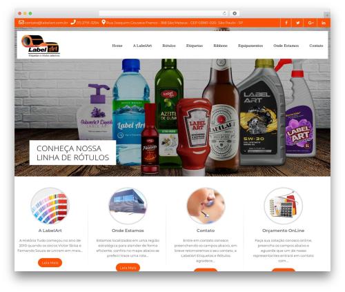 Milestone lite free website theme - labelart.com.br