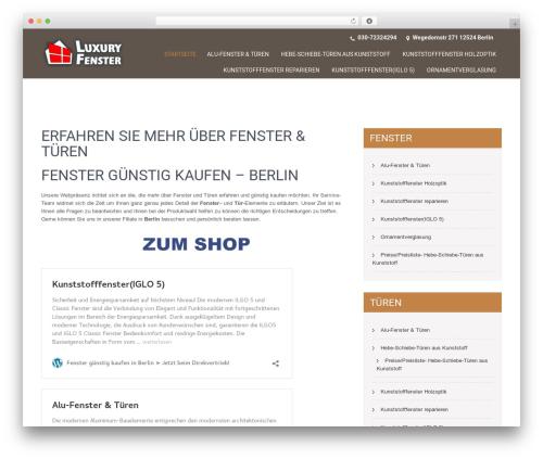 SKT Coffee theme WordPress free - luxury-fensterberlin.de