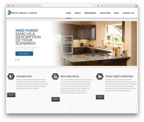 cherry best WordPress template - spinnakerloans.com