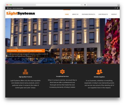 Formation free WordPress theme - lightsystems.ie