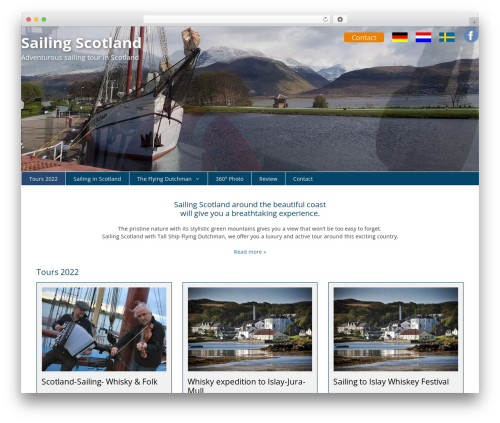 GeneratePress WordPress theme - scotland-sailing.com