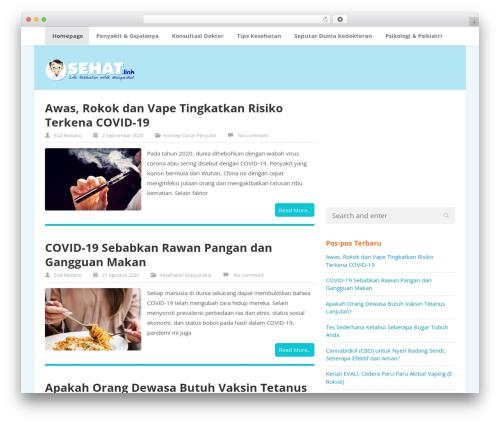 ktz freak top WordPress theme - sehat.link