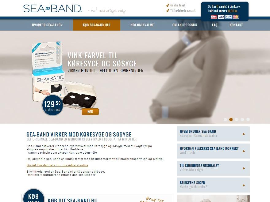 SeaBand.com WordPress theme