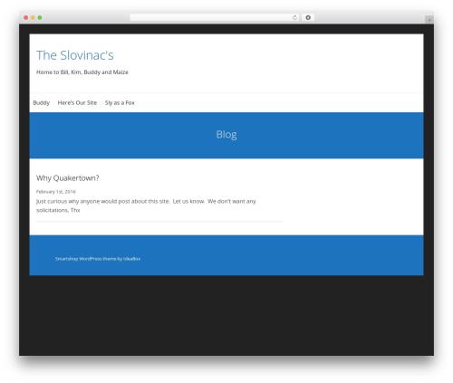 SmartShop WordPress ecommerce template - slovinac.com