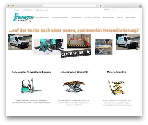 Theme WordPress Total - steinbock-ag.ch