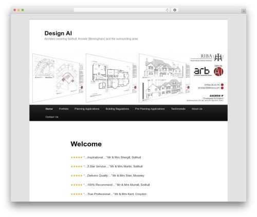Twenty Eleven WordPress theme free download - solihullarchitect.co.uk