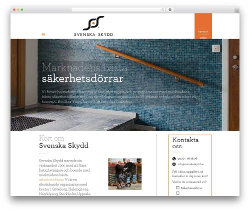Best WordPress theme Betheme - svenskaskydd.se