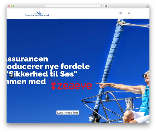 Betheme best WordPress template - soassurancen.dk