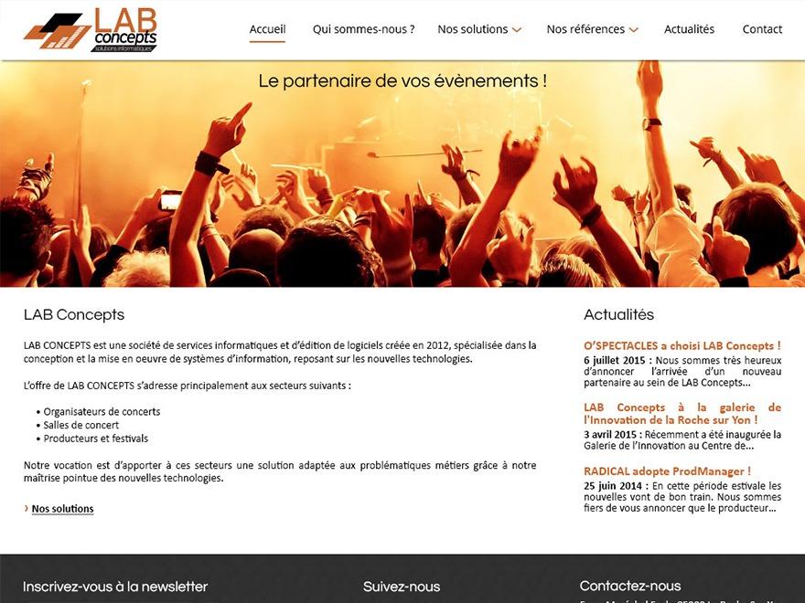 Flat Responsive WordPress ecommerce theme