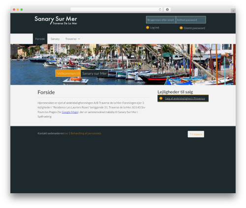 Gantry Theme for WordPress premium WordPress theme - sanary.dk
