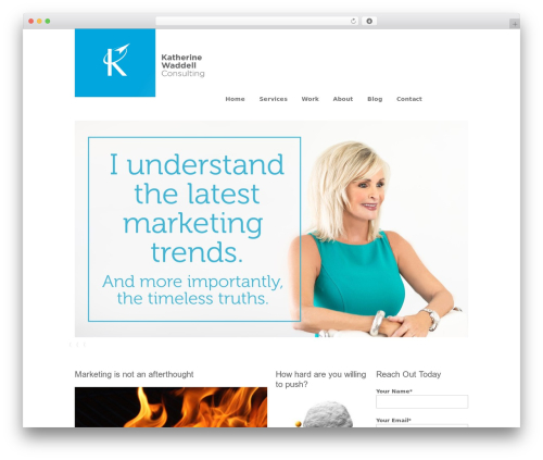 Immersion best WordPress template - kwaddellconsulting.com