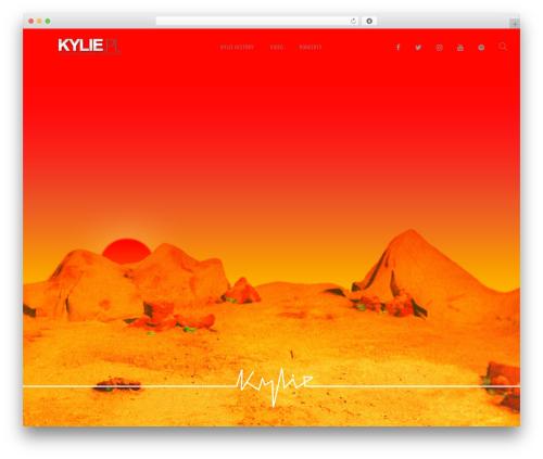 Lucille WordPress theme - kylie.pl