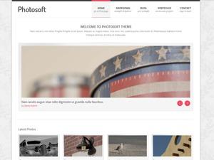 Photosoft wallpapers WordPress theme