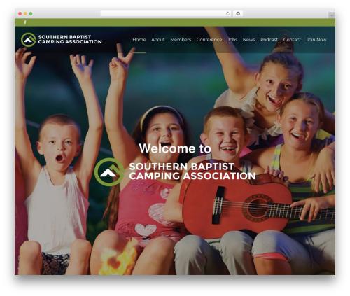 Pointfinder WordPress theme - sbcamping.org