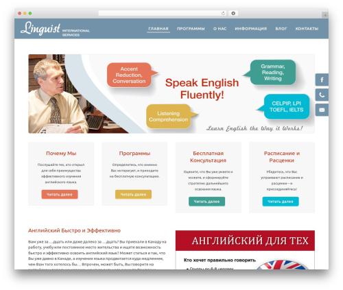 WPLMS WordPress website template - sergiypatoka.com