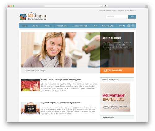 Best WordPress template Grand College - skolajezikamlingua.com