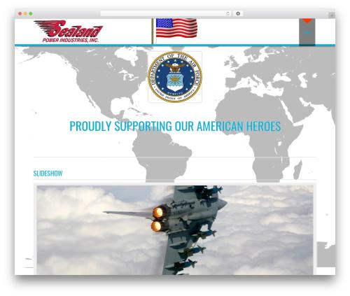 D5 Business Line Extend WordPress theme - sealandpowerindustries.com