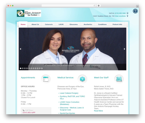 Free WordPress WordPress Picture / Portfolio / Media Gallery plugin - sanantonioeyeinstitute.com
