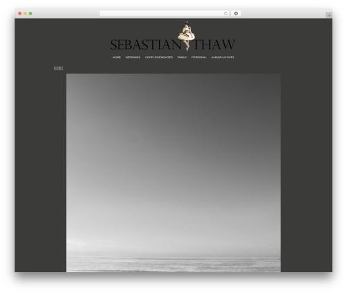 ProPhoto theme WordPress - sebastianthaw.com
