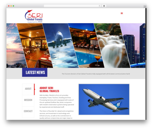 Template WordPress Betheme - seriglobaltravels.com