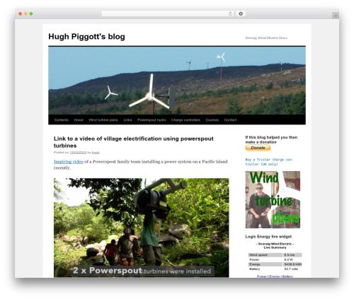 WordPress template Twenty Ten - scoraigwind.co.uk