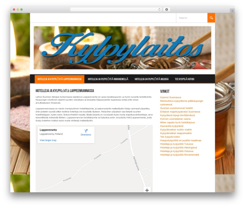 WordPress theme Koenda - kylpylaitos.com