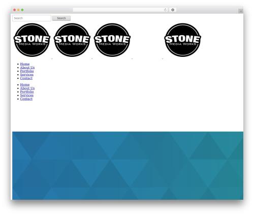 Bridge WordPress theme - stonemediaworks.com