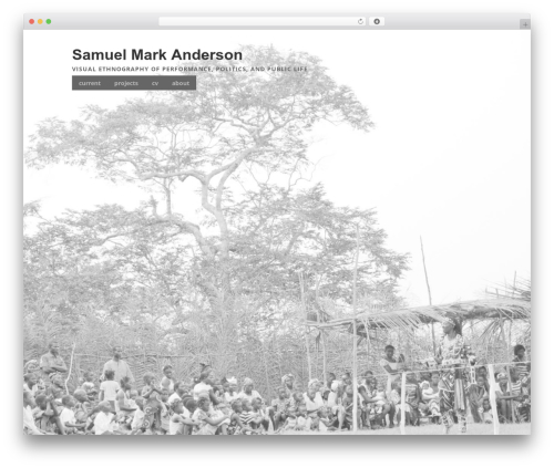 Make free WP theme - samuelmarkanderson.net