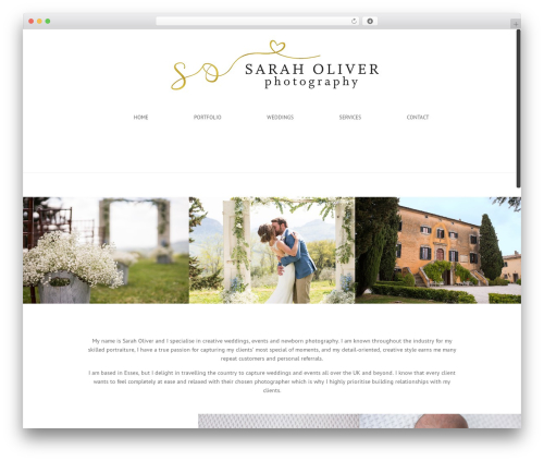 Free WordPress WP Header image slider and carousel plugin - saraholiverphotography.com