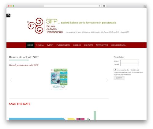 Free WordPress CodeFlavors floating menu plugin - scuoladianalisitransazionale.it