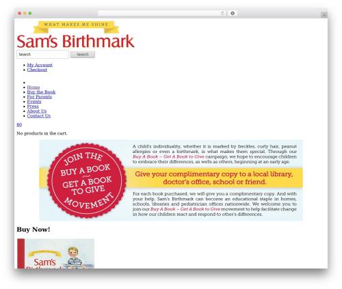 Shoppica best WooCommerce theme - samsbirthmark.com