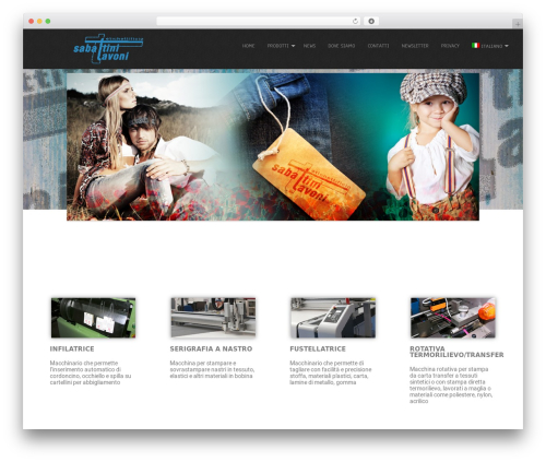 Simplicity Lite WordPress theme design - sabattinitavoni.com
