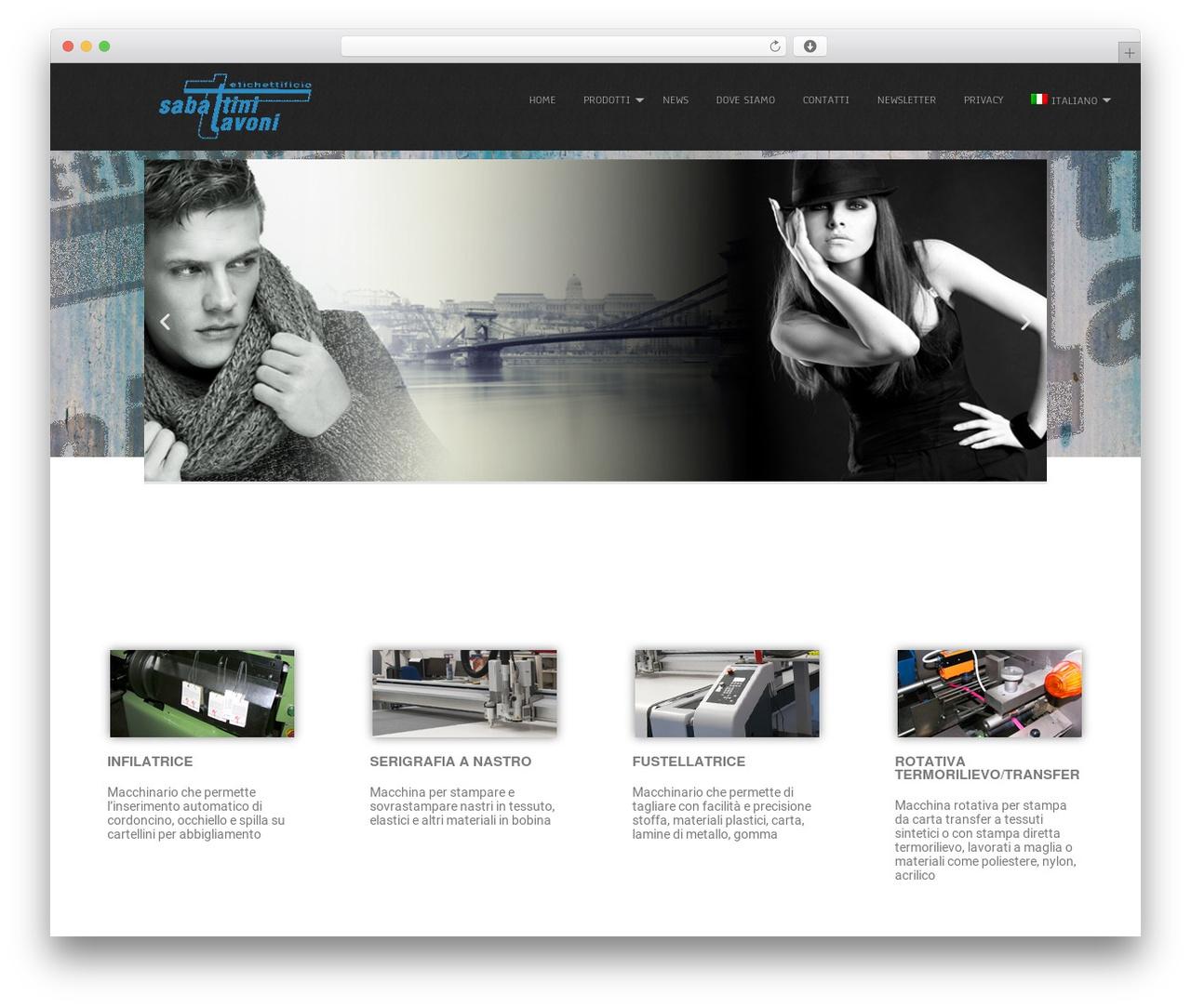 Simplicity Lite WordPress theme design - sabattinitavoni.com