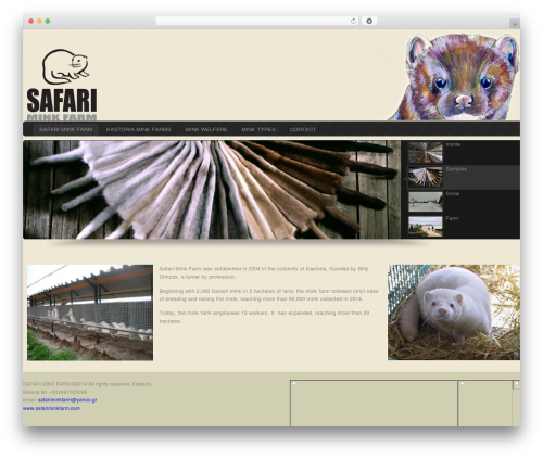 Theme WordPress Custom Community Pro - safariminkfarm.com