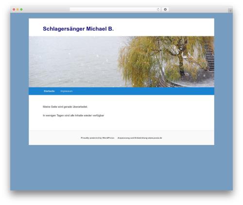 Twenty Eleven best free WordPress theme - schlagersaenger-michaelb.de