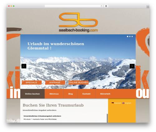 WordPress mega-slider plugin - saalbach-booking.at