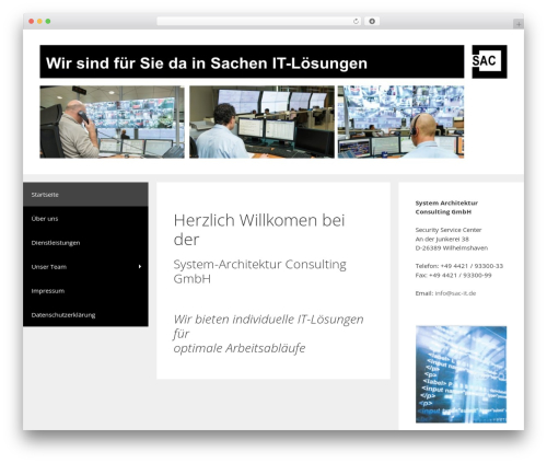GeneratePress WordPress page template - sac-it.de
