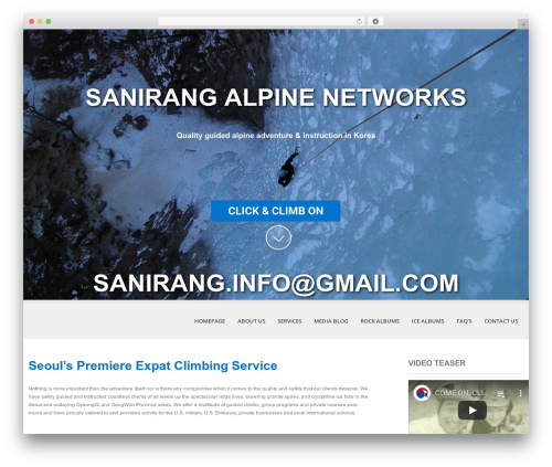SKT White WordPress template - sanirang.net