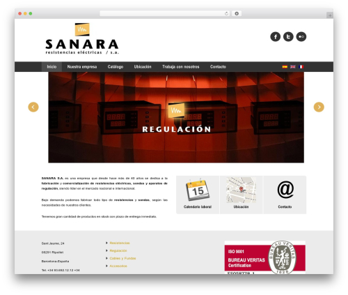 WordPress theme Impression theme - sanarasa.com