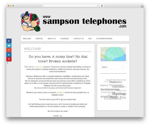 Free WordPress 3D Tag Cloud plugin - sampsontelephones.com/wordpress