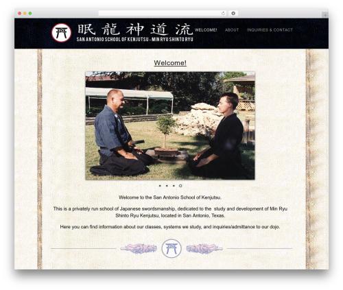Template WordPress Portafolio - saschoolofken.com